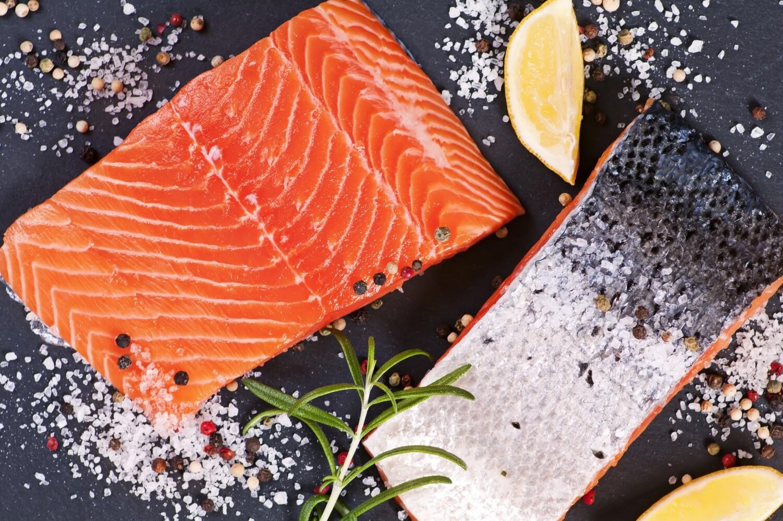 North Atlantic Salmon Fillet 1 lb. Skin On