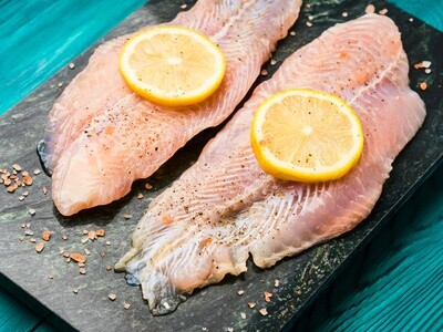 Wild Caught Acadian Redfish Perch 1 lb. - Skin on