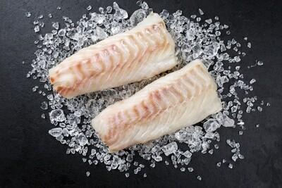 Wild Caught Massachusetts Cod Fillet 1 lb.  - Skin on