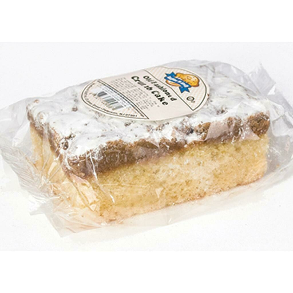 Pre-Wrapped Crumb Cake - Box of 12