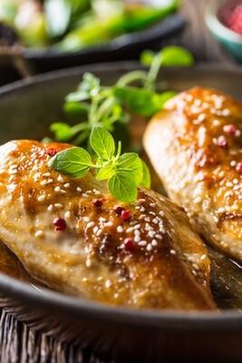 Kosher L'Pesach Teriyaki Chicken Platter - 12 oz.