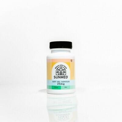 Water Soluble Gel Caps 750 mg