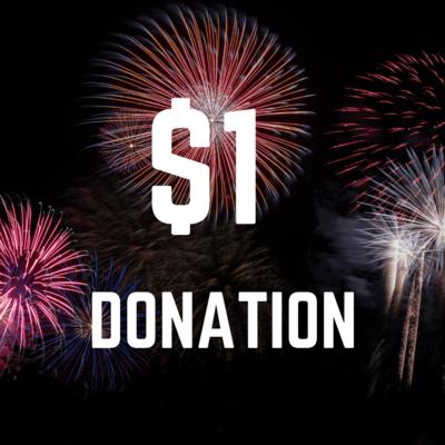 $1 Donation