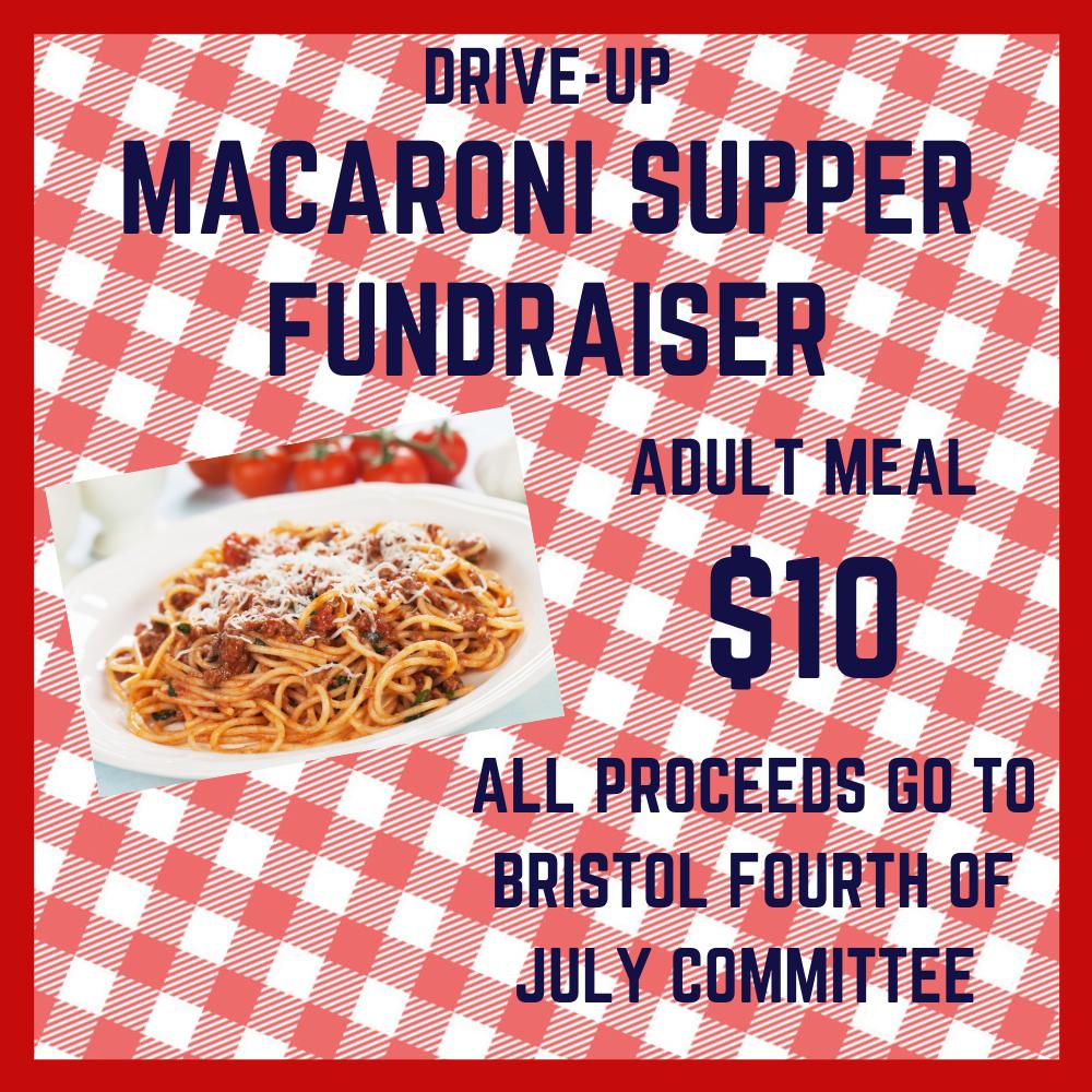 Drive-Up Macaroni Supper - December 1, 2020