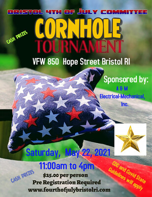 Cornhole Tournament - May 22 @ VFW