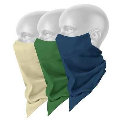 Plain Scarf Masks
