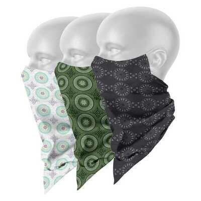 Shweshwe Scarf Masks