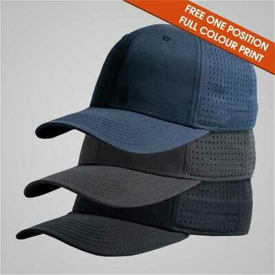 Sports Cap - 6 Panel Curved Peak