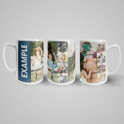 Personalised Mug - 440 ml Ceramic Mug - Large
