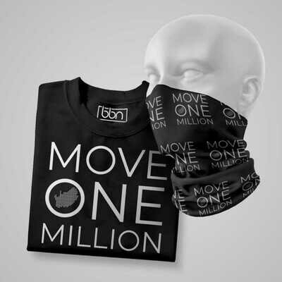T-Shirt & Buff Set - Move One Million