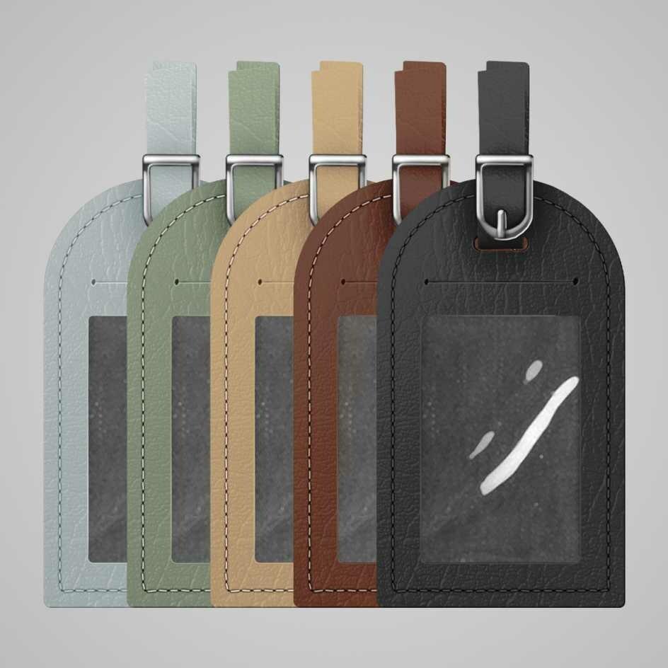 Luggage Tag - Genuine Leather