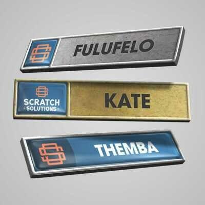 Name Badges - Premium Metal
