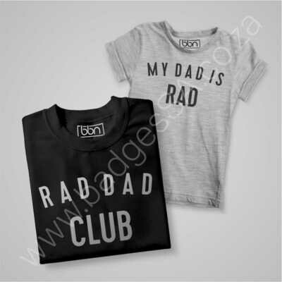 Rad Dad &  Daddy's Rad Combo