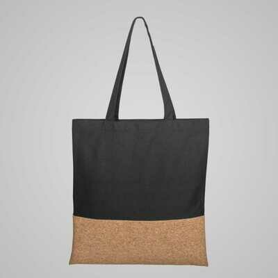 Tote Gift Bag Cotton and Cork