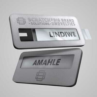 Interchangeable Badges - Metal  Range
