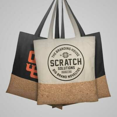 Tote Bag Cotton and Cork