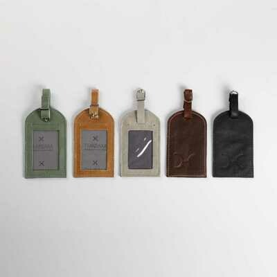 Luggage Tag - Genuine Leather