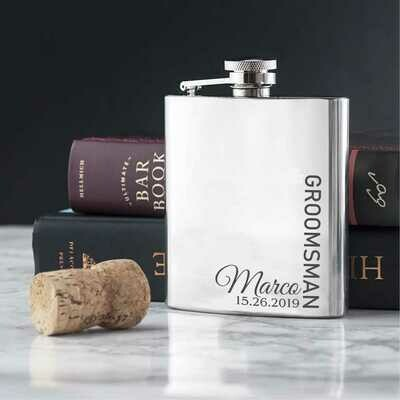 Hip Flask 120ML - Silver
