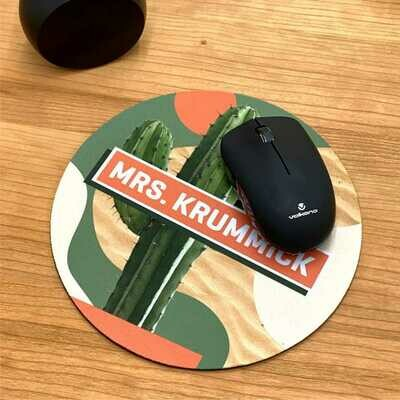 Personalised Mousepad Round