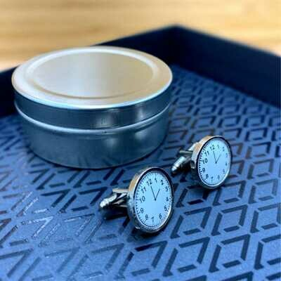 Personalised Cufflinks –  Round