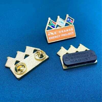 Trio Flag Badges