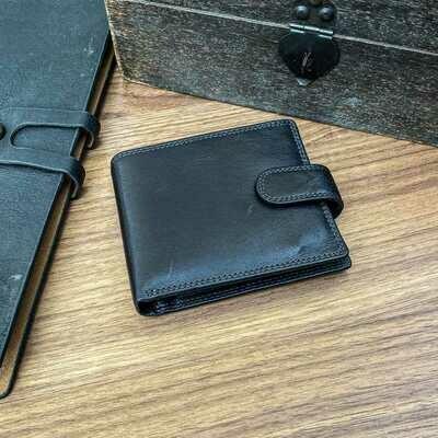 Adpel Dakota Leather Wallet with Tab