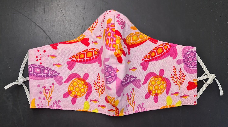 Repti Mask Pink Turtle