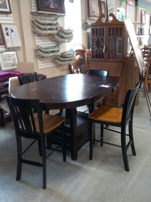 DINING SET 4 CHAIRS
