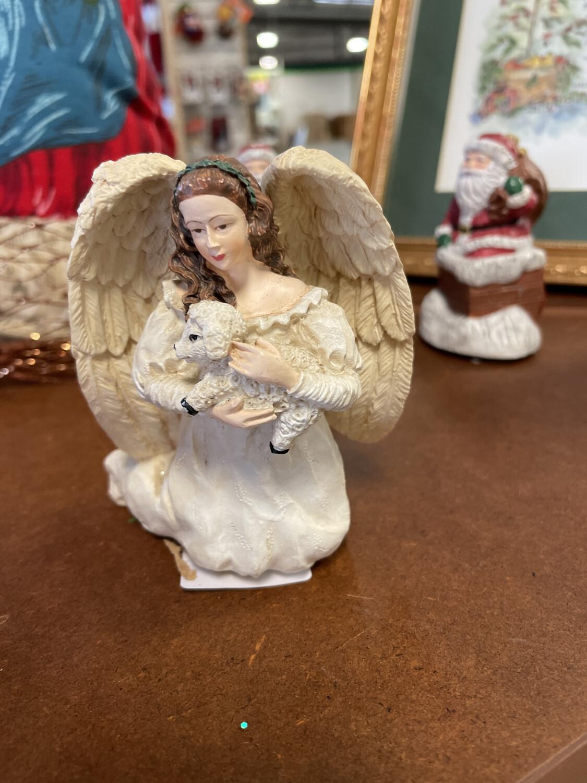 ANGEL CANDLE HLDER