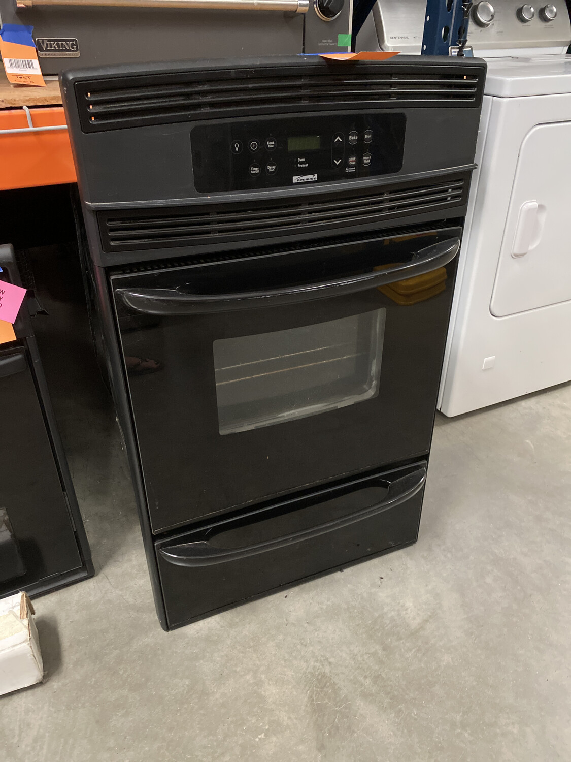 KENMORE SMALL WALL OVEN