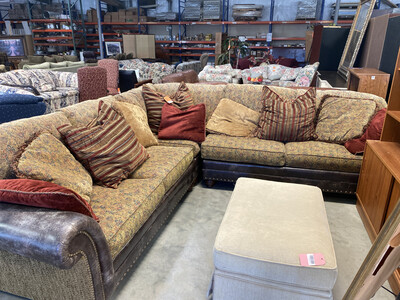DISTRESSED SECTIONAL
