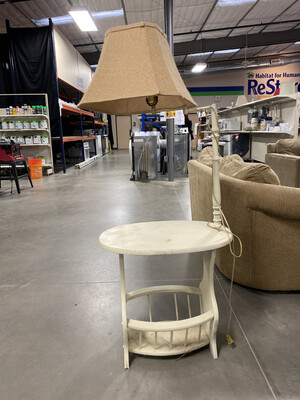 MAGAZIN TABLE/LAMP
