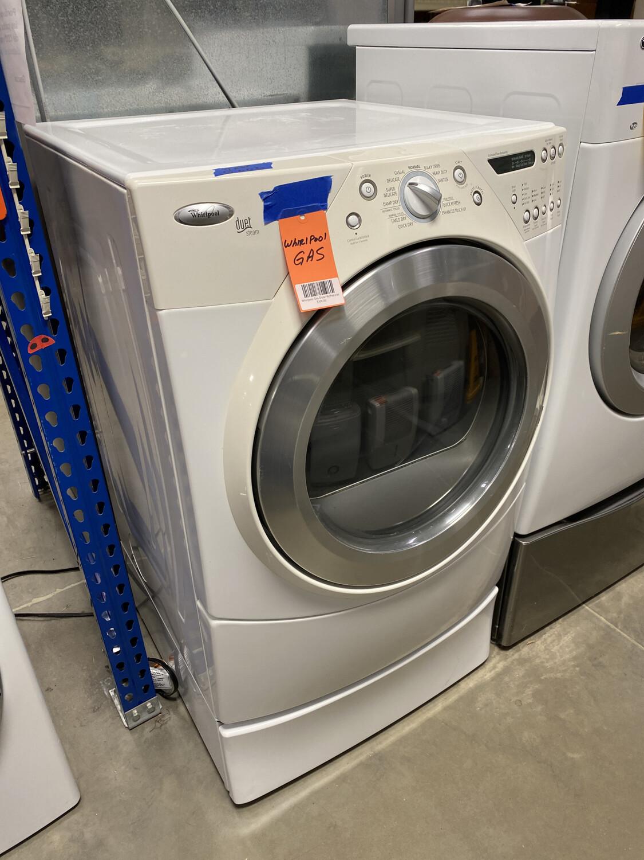 Whirlpool Gas Dryer W/Pedistal