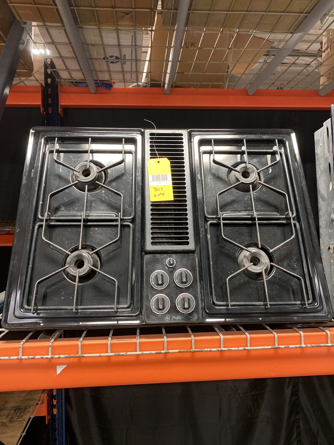 GE PROFILE 4BURNER GAS STOVETOP