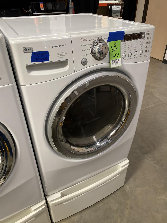 LG Washer & Gas Dryer Set