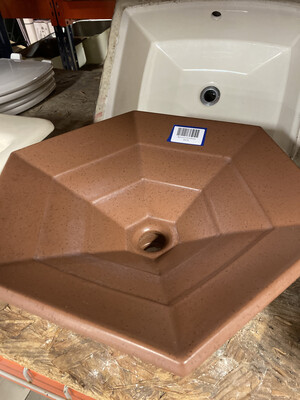 Bathroom Sink Brown