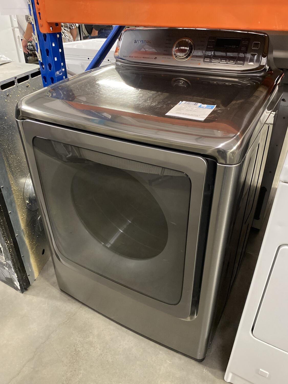 Samsung Steam Dryer Gray