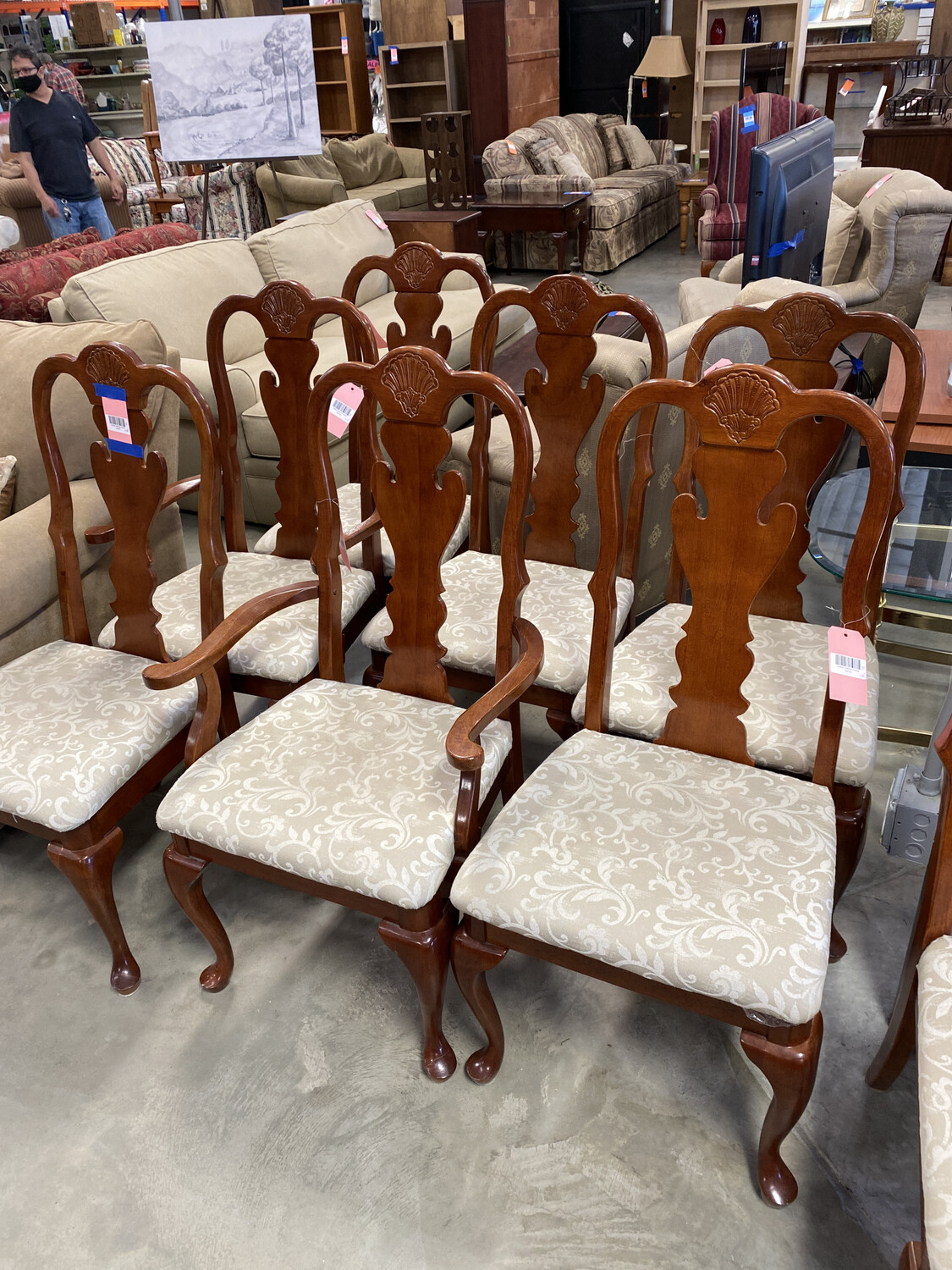 CREME DINING CHAIR