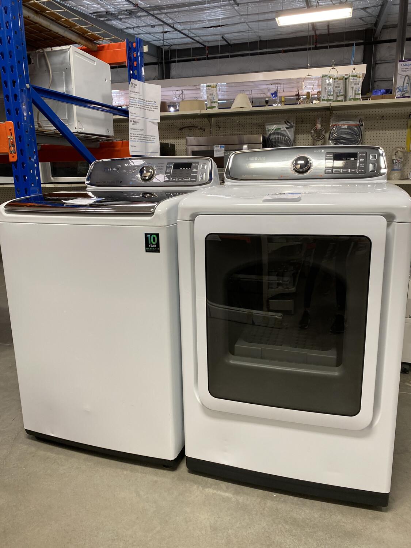 Samsung Washer & Gas Dryer