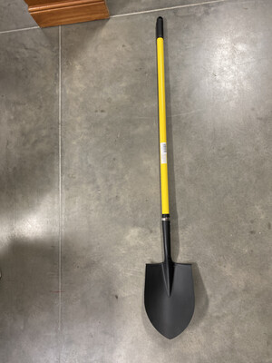 P-SHOVEL RD POINT LG HANDLE