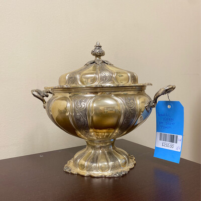 Vintage Silver Tureen