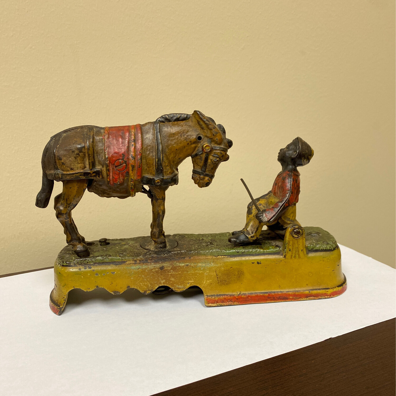 Antique Spice A Mule Bench Mechanical