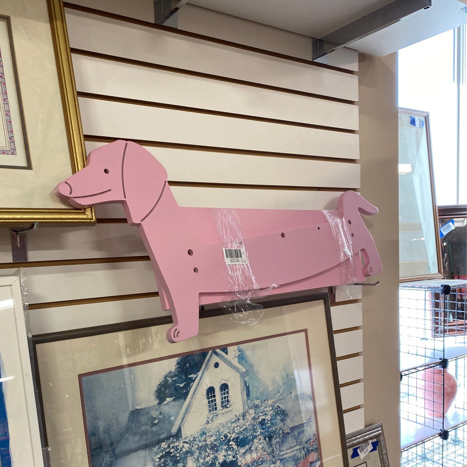 PINK DOG SHELF