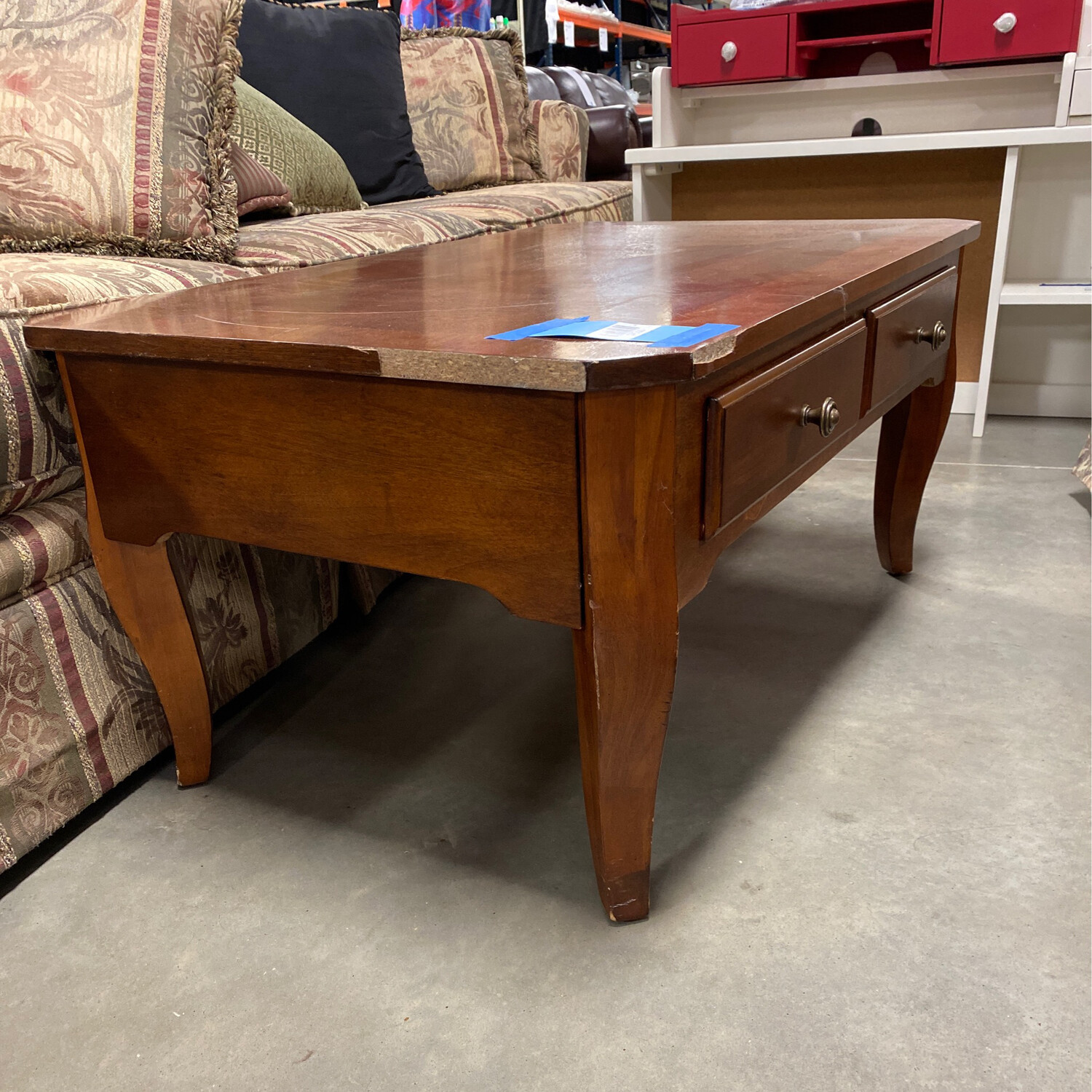 COFFEE/SIDE TABLE WITH DRAWER