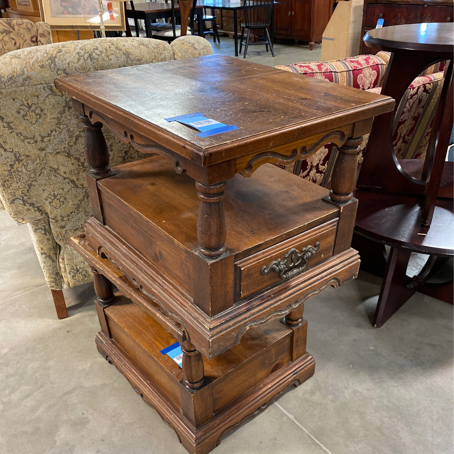 ORNATED SIDE TABLE