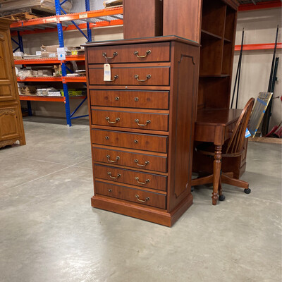TALL 4 DRAWER FILING CABINET/KEY