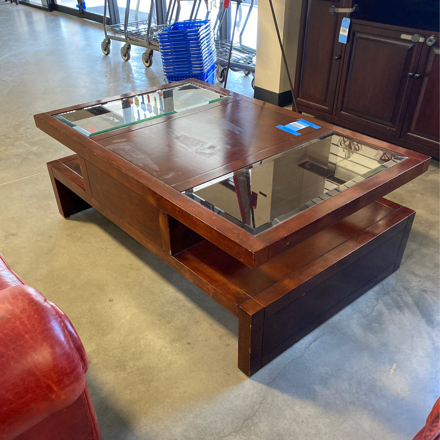 COFFEE TABLE/GLASS