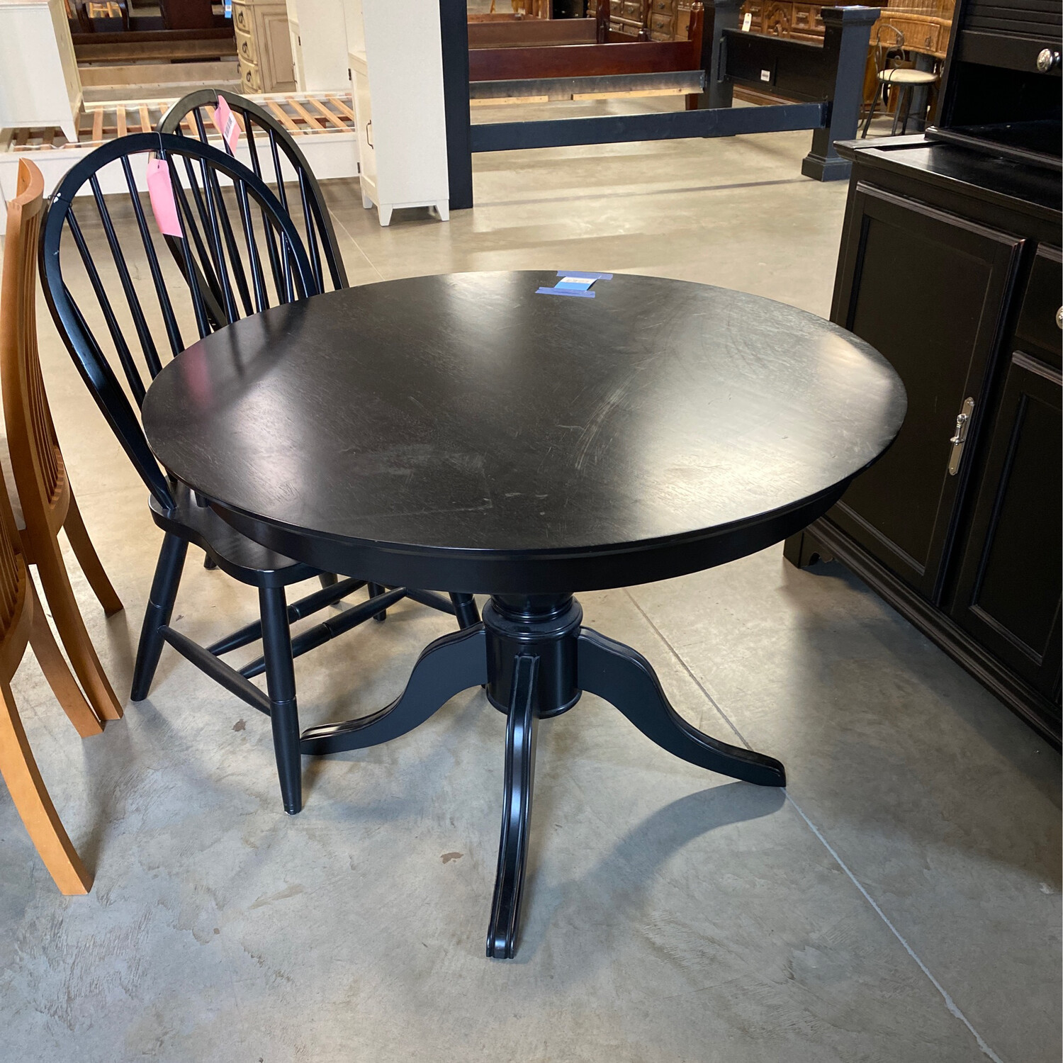 BLACK RD. DINING TABLE