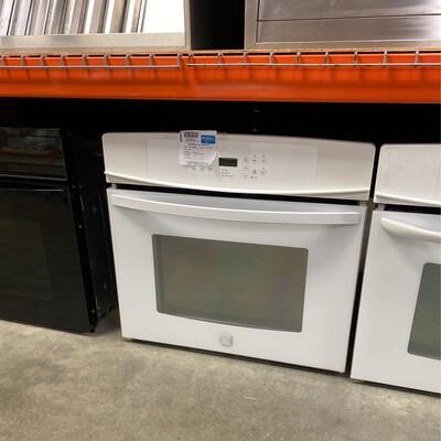 Kenmore White Single Oven