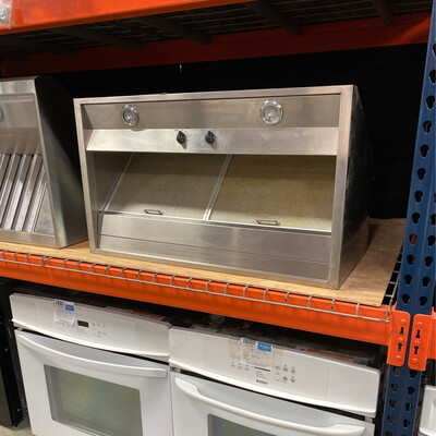 ge 36inch stainless vent hood